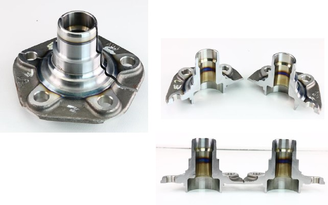 Top Tech CK360 Abrasive Cutter - cut sample 2