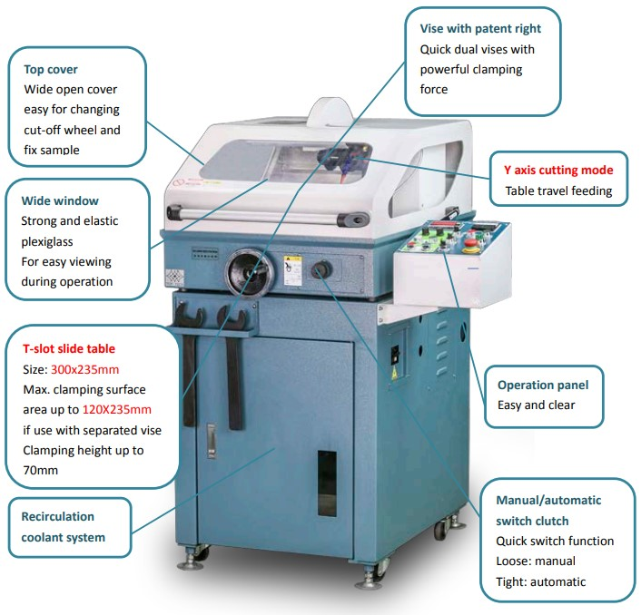 Top-Tech-Lay-Out_of_CK260B-abraive-cutting-machine
